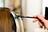 image of hair comb  - At the hairdresser  - JPG