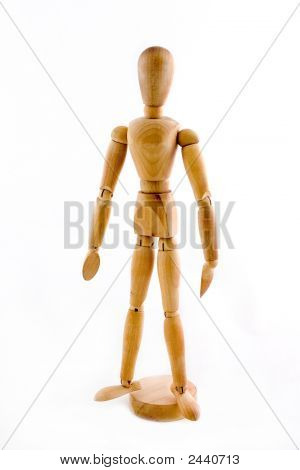 Model Posing Stand Position 1