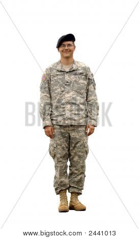 American Army Soldier