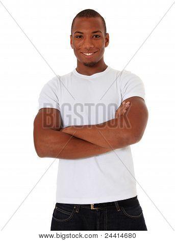 Confident man