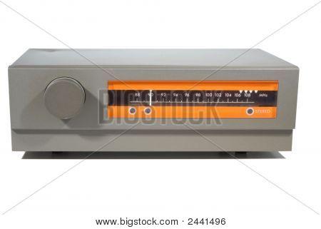 British Retro Sixties Hi-Fi Fm Tuner
