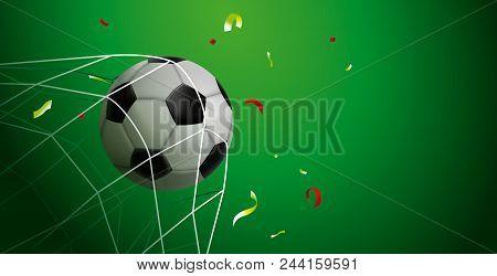 Soccer Match Web Banner For
