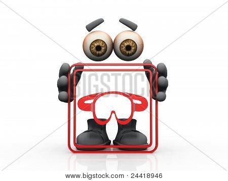 diving mask symbol