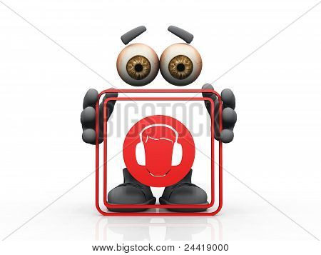 hearing protection symbol