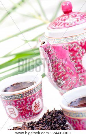 Jogo de chá porcelana chinesa