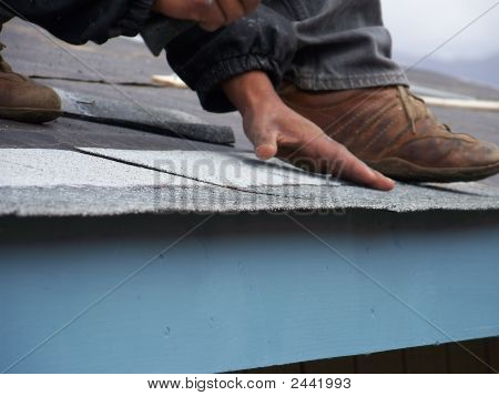 Laying The Roof