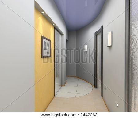 moderne Vorraum