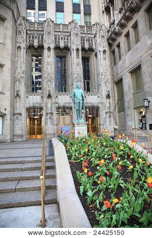Chicago - Nathan Hale Statue