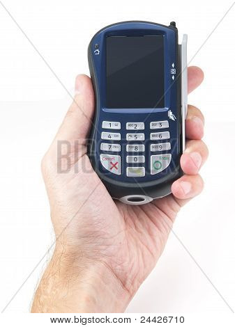 Payment Terminal In Palm