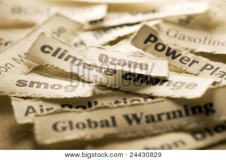 Global warming concern