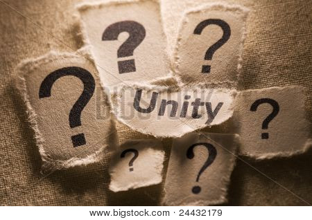 Questioning unity