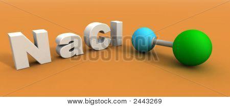 Sodium Chloride Molecule
