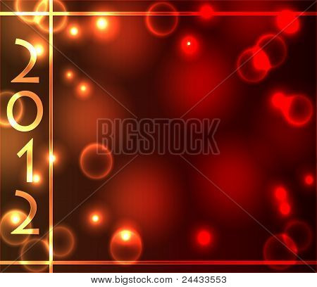 2012 Light Effects Background