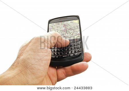 Phone with GPS