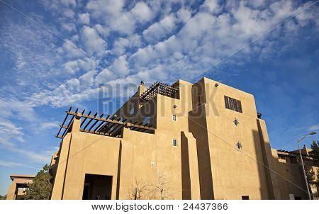 Pueblo Revival Architecure