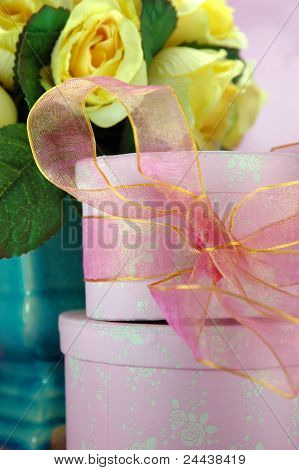 Pink Gift Boxes