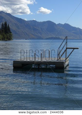 Pontoon In Queenstown