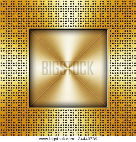 golden chip background