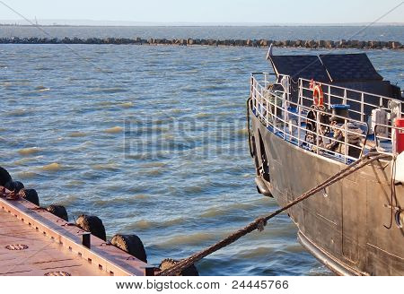 Prow Of Ship, Close Up