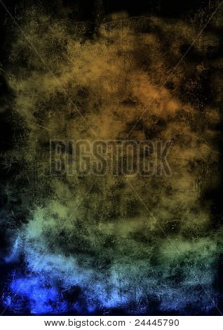 Grudge Blue Dirt Abstract Black