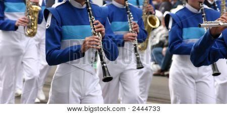 Clarinete azul & vientos