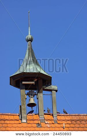 Steeple of an old townhall