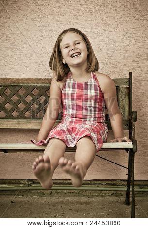 Fun - Portrait Of Girl