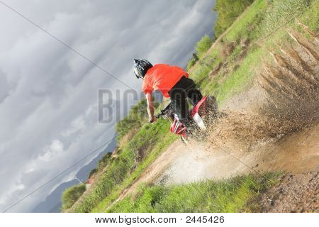Fun On The Motocross Bike