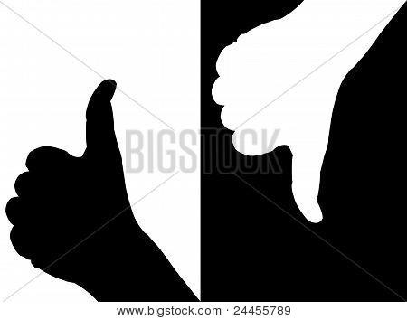 Hands In Contrast