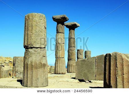 Ruínas do Templo de Athena