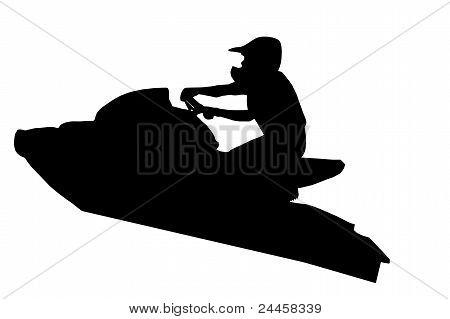 Jet-ski Racer Jumping