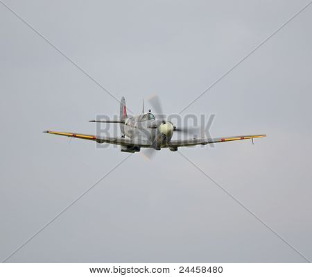 Spitfire Flying Low