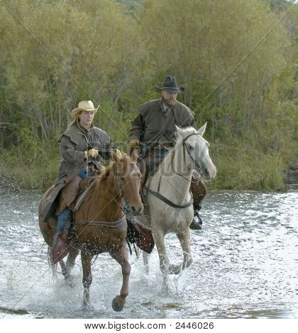 Cowboys Crosssing River
