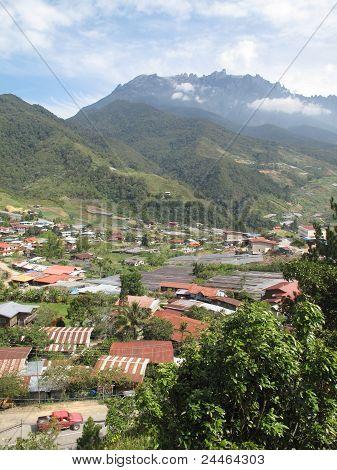 Mt Kinabalu Scene