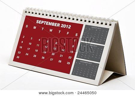 September 2012 Calendar