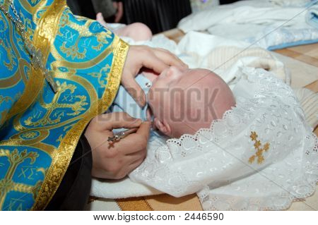 Ceremony Of A Christening