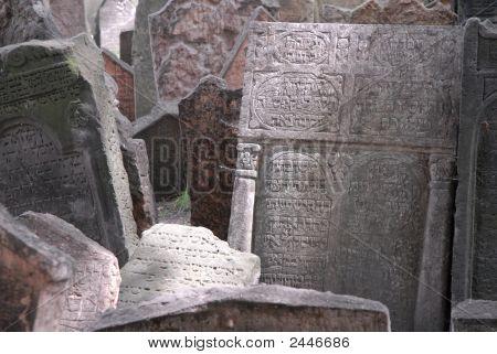 Prague Gravestones