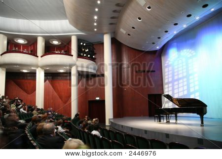Listeners In The Concert Hall