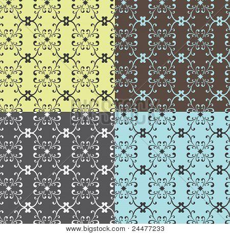 Seamless Curly Pattern