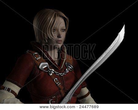 Female Ranger Portrait