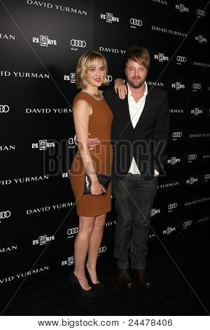 LOS ANGELES - OCT 18:  Jess Weixler, Joshua Leonard arriving at the PS Arts 20th Anniversary Event at the Sunset Tower Hotel on October 18, 2011 in West Hollywood, CA