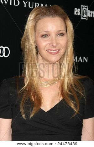 LOS ANGELES - OCT 18:  Lisa Kudrow arriving at the PS Arts 20th Anniversary Event at the Sunset Tower Hotel on October 18, 2011 in West Hollywood, CA