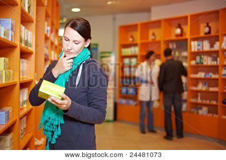 Customer Decides In Pharmacy