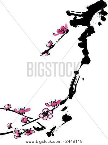 Plum Flower 4.Eps