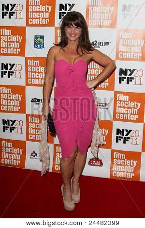 NEW YORK - OCTOBER 16: Mary Birdsong attends the premiere of