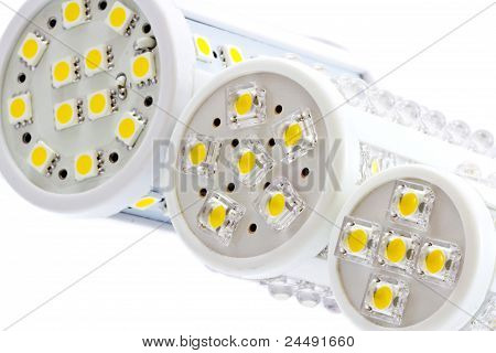 Various Sizes Of Led Bulbs With 1-chip And 3-chip Smd Leds