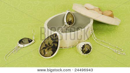 Green Silver Jewelery.