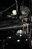 foto of speculum  - antique car - JPG