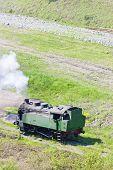 stock photo of former yugoslavia  - steam locomotive - JPG