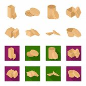 Case, Shell, Framework, And Other  Icon In Cartoon, Flat Style.box, Container, Package, Icons In Set poster